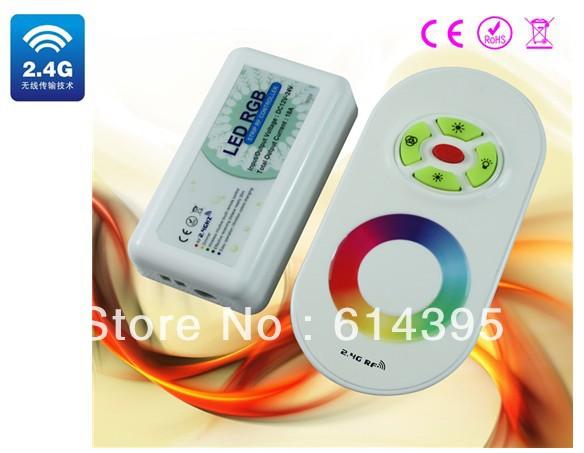 RGB контролер 2.4g RGB , DC12/24V, 15 , 20/30 , ce ROHS QH-20