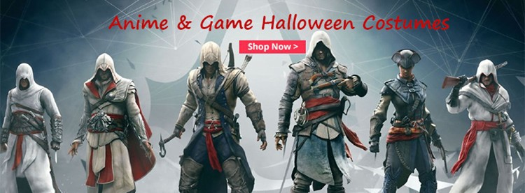 Anime-Game-Halloween-Costumes