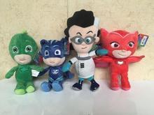 Buy 4pcs/set Movie PJ Cartoon Mask Pajamas Mask Plush dolls Toys Amaya Owlette Greg Gekko stuffed dolls Toys Children gift for $17.94 in AliExpress store