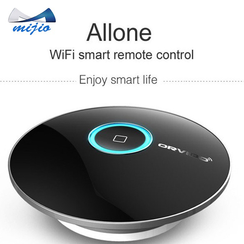 Orvibo wireless Smart home Automation system AllOne wiwo R1 house remote control touch light switch WIFI+IR+RF control by phone(China (Mainland))