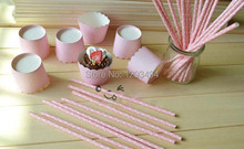Paper Straws and Cups