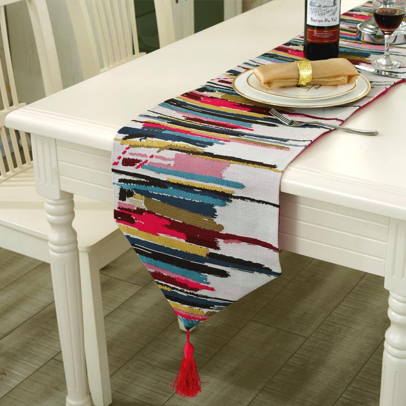 Achetez en gros nylon coureur en ligne des grossistes - Chemin de table colore ...
