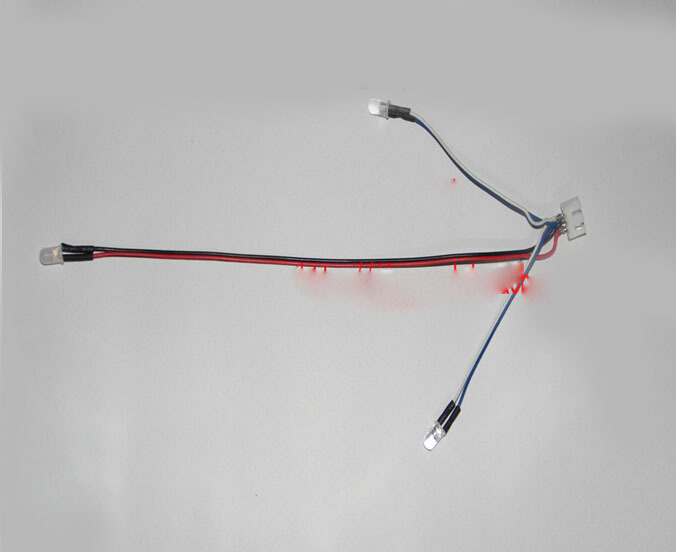 Free shipping Wltoys WL 912 WL 911 Feilun FT007 FT009 UDI001 Parts LED Position Signal Light Kit(China (Mainland))