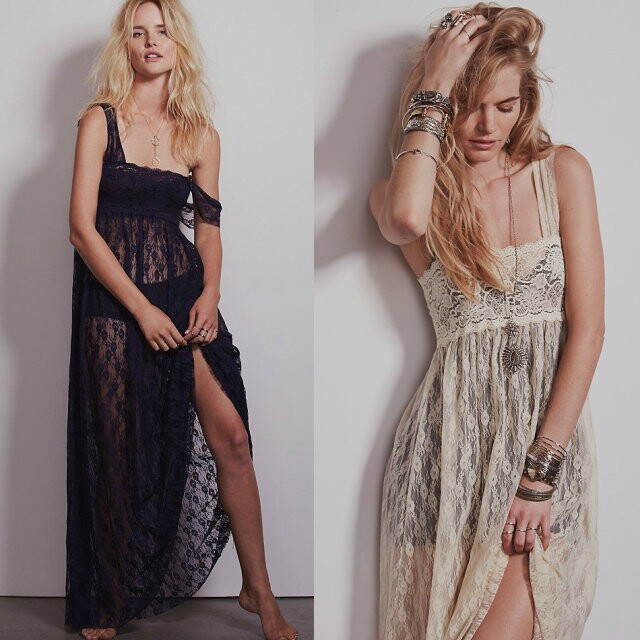 high quality lace dress 2016 women maxi sexy summer beach lace ankle-length strapless cocktail party chic hippie boho people dre(China (Mainland))