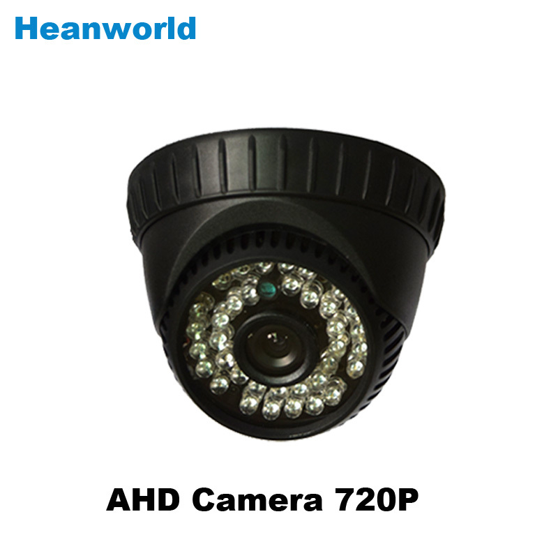 AHD camera 720P indoor dome analog camera with OSD cable 36 IR LEDs security CCTV HD camera monitoring system for home use(China (Mainland))