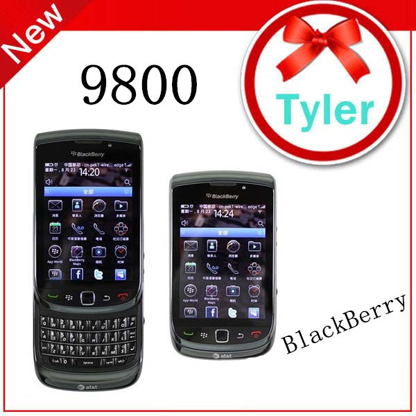 Blackberry 9800 Torch Slider Qwerty keyboard Touch Screen Unlocked Mobile Phone,Free shipping
