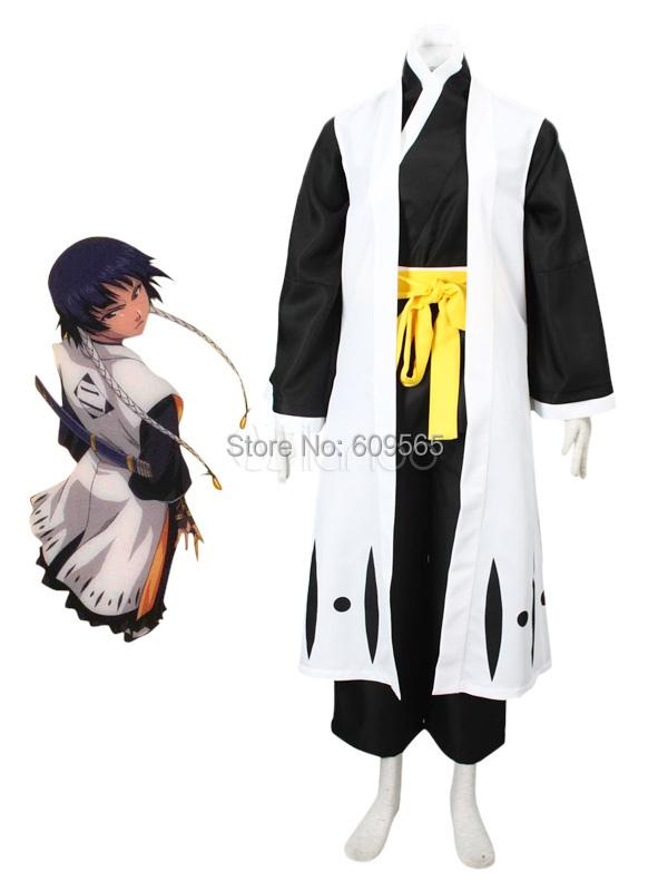 Smart Soi Fon Bleach Cosplay Costume Kimono , Sash , Pants , GownОдежда и ак�е��уары<br><br><br>Aliexpress