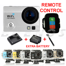 SJ9000 Wifi Action Sport Camera  Full HD 1080P Remote control Gopro Style Camera 2.0″ LCD Waterproof Camera Extra Battery