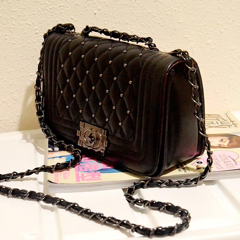 Fashion classical diamond Handbags Vintage Womens Genuine Leather Messenger Bag Shoulder Cross body Bag Clutch satchels 1455bag<br><br>Aliexpress