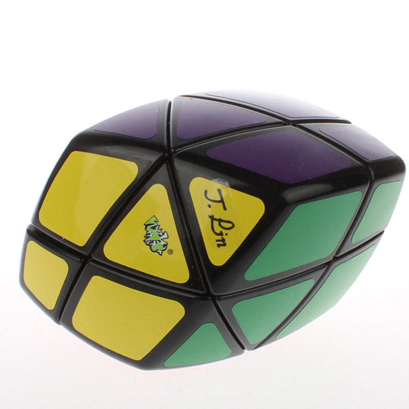 LanLan Skewb Curvy Rhombohedron Magic Cube White Educational Toy Special Toys Concept Edition Birthday Gift(China (Mainland))