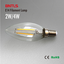 4W 8W E14 220V AC LED Filament Candle Bulbs 360 Degree bulb New Design lamp Replace Incandescent Light Energy Saving(China (Mainland))