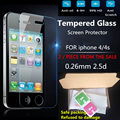 2016 film 0 26mm on the for iPhone 4s Tempered Glass Screen Protector film on the