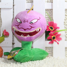 Hot sale 16CM (Shut up Chomper) Plants vs zombies doll plush toy Doll Top games Baby Toy for Children Gifts toys