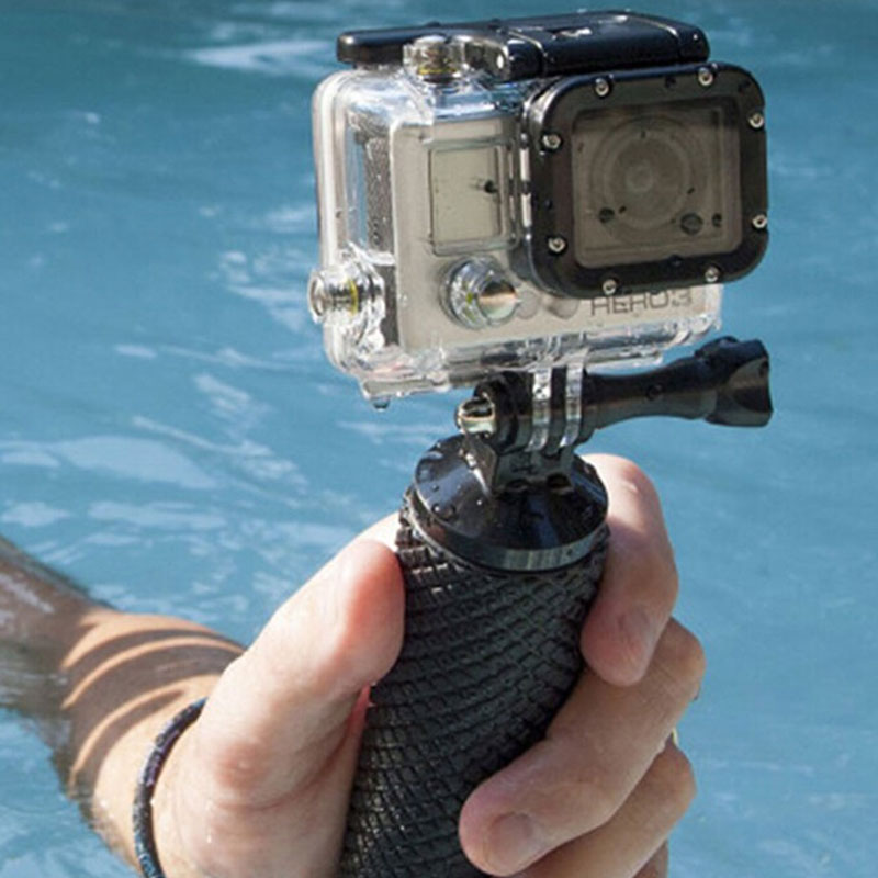 Go Pro Accessories Floating Bobber Mount Float Hand Grip Bobber Handle Stick Monopod Tripod GoPro Hero 2 3 3+ 4 Xiaomi Yi