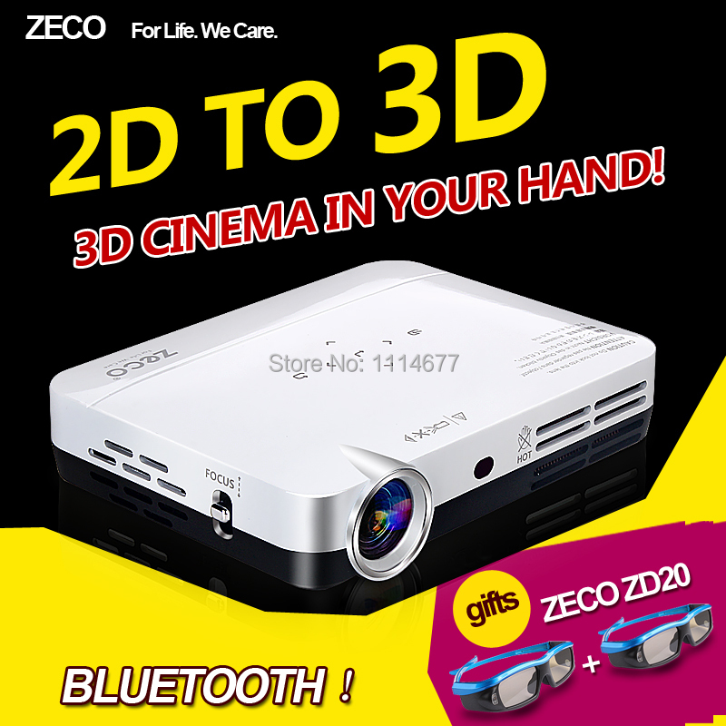 Free shipping cx3 bluetooth video pico proyector 3d full for Mini bluetooth projector