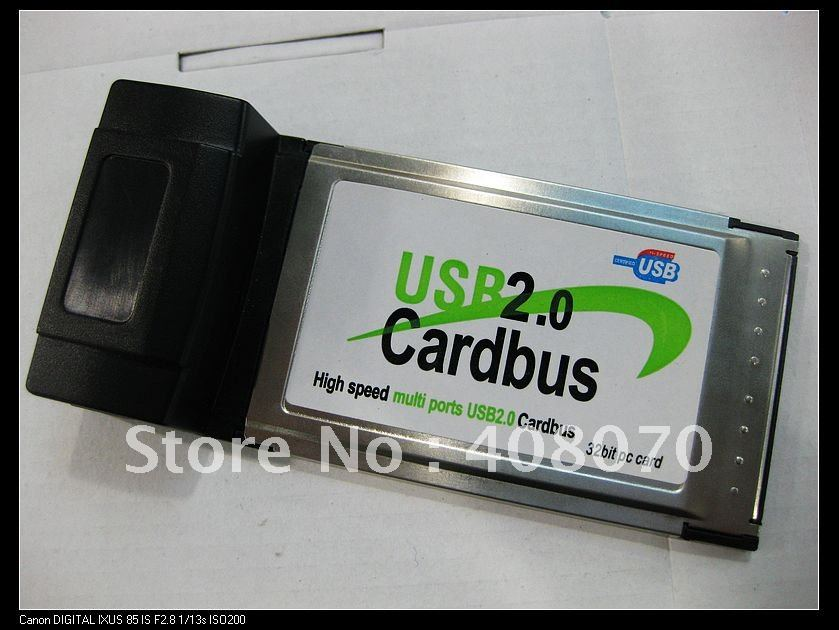 PCMCIA to USB2.0, 4 port, USB2.0 Port Card, Brand new quality,free shipping for big quantity purchase(China (Mainland))