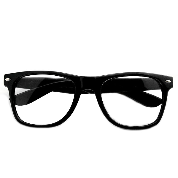 Free Shipping! 2015 Fashion Women New Goggles 80s Style Multi-coloured Plain Eyeglasses Glasses Spectacles 120-0300