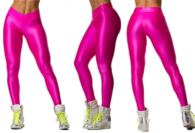 2019 wholesale coffee new fashion sexy woman capri sportwear runningpink new fashion sexy woman capri yoga running pants tall waist clipping stretch exercise trousers transparent black leggings