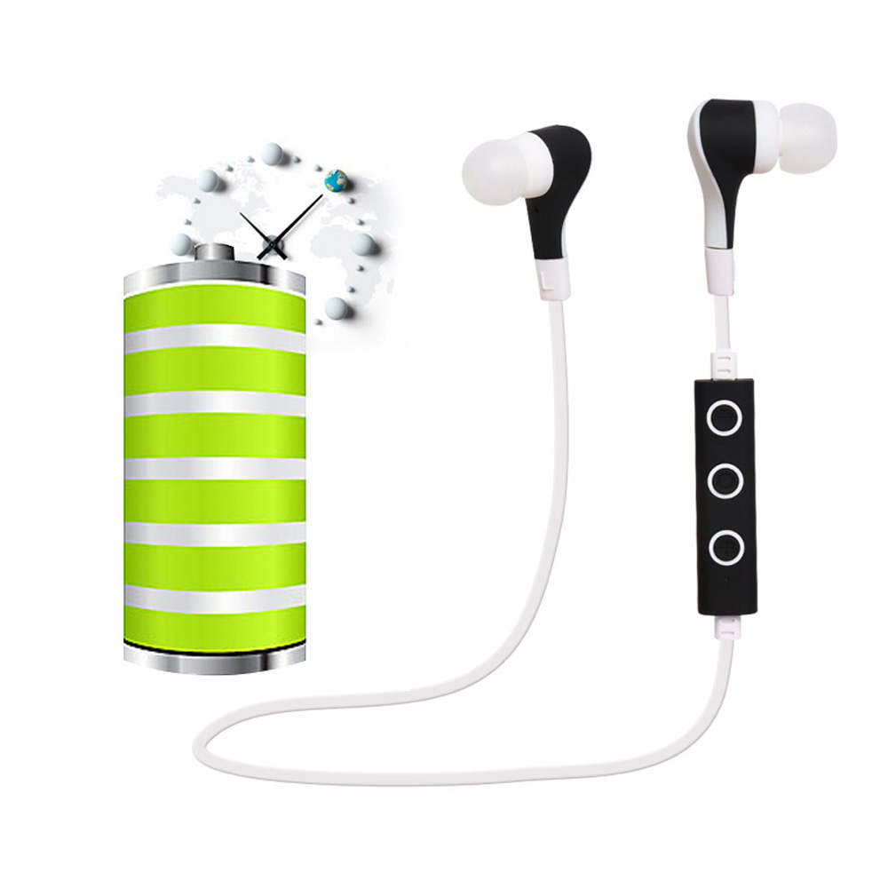 Huast Earphones Stereo Sports Bluetooth Headsets with Microphone Wireless Earphone Headset for Iphone HTC Android fone de ouvido(China (Mainland))