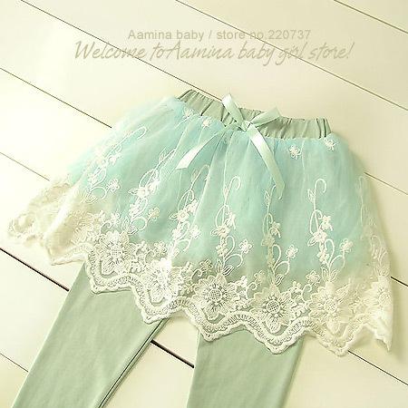 Aamina Spring autumn skirt pant kids leggings baby font b girls b font clothes wholesale