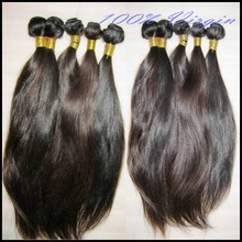 Gorgeous Hair Grade 9A Peruvian Natural Straight Hairs 3 Bundles Sew-In Wefts Wonderful Shopping Experience XOXO(China (Mainland))