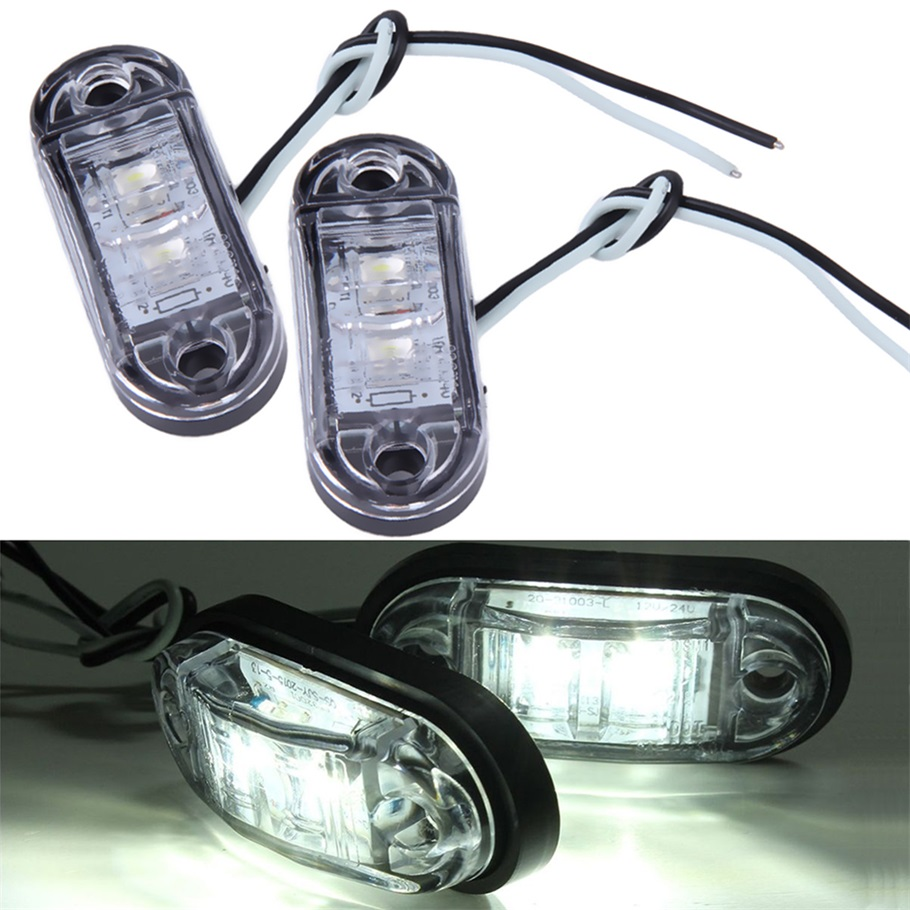 2pcs piranha led side marker blinker light lamp for car. Black Bedroom Furniture Sets. Home Design Ideas