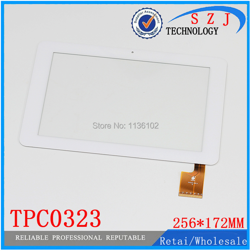 "New 10.1"" inch for Sanei N10 AMPE A10 Quad Core TPC0323 VER1.0 Touch Screen Panel Digitizer 256*172mm Tablet PC free shipping(China (Mainland))"