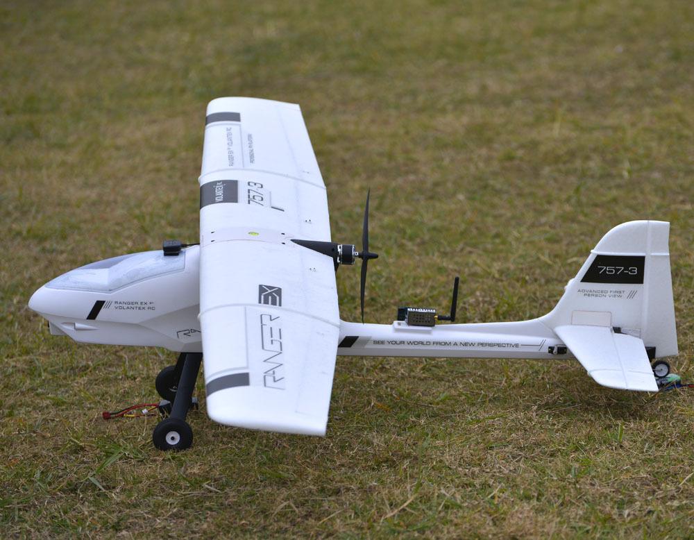 VolantexRC 1.9m Ranger EX Long range FPV/SUAS Platform Unibody Big weight Carrer PNP Version RC Airplane Model(China (Mainland))
