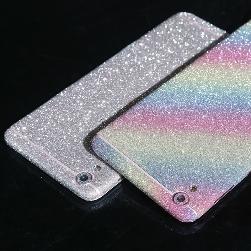 Full Body Stickers for OPPO R9 Shiny Glitter Sparkling Diamond Matte Protector mobile phone cases stickers FOR Find1 plusF1 plus(China (Mainland))