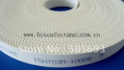 HTD3M PU Open teeth belt with 15mm width 10metre a pack(China (Mainland))