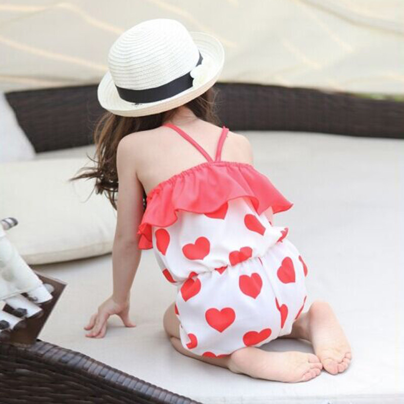Baby Girls Kids Harem Pants Short Trousers Chiffon Heart Pattern Jumpsuit Hot Free Shipping<br><br>Aliexpress