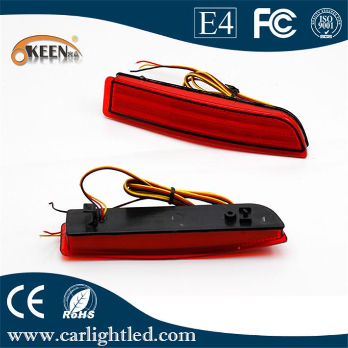 RAV4/PREVIA/alphard 2010 Parking warning Lamp Rear Bumper Reflector Light LED red bulb - Beauty Car store