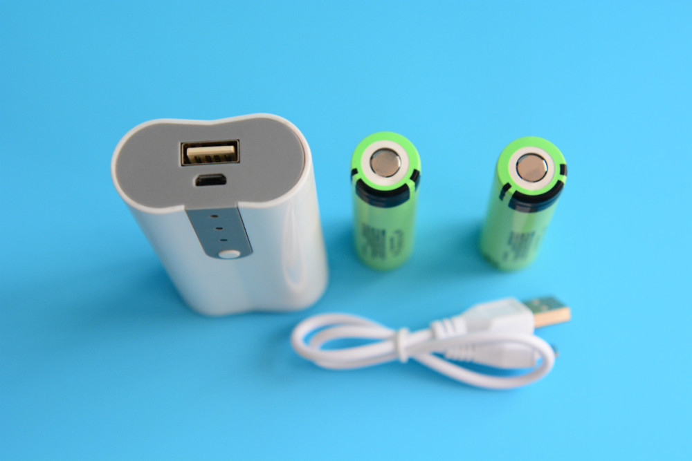 Cheapest 2.1A portable 18650 Battery charger Box Shell smart power bank case for mobile phone flashlight etc.