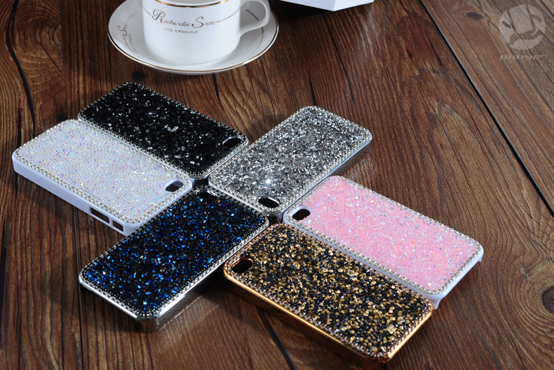 27 1pcs 4.7 inch Case For iphone6 case for iphone6 plus 5.5 inch Hot Fashion Luxury Diamond Flashing Cell Phone Cases Covers For apple iphone 6 case iphone 6 plus case accessories