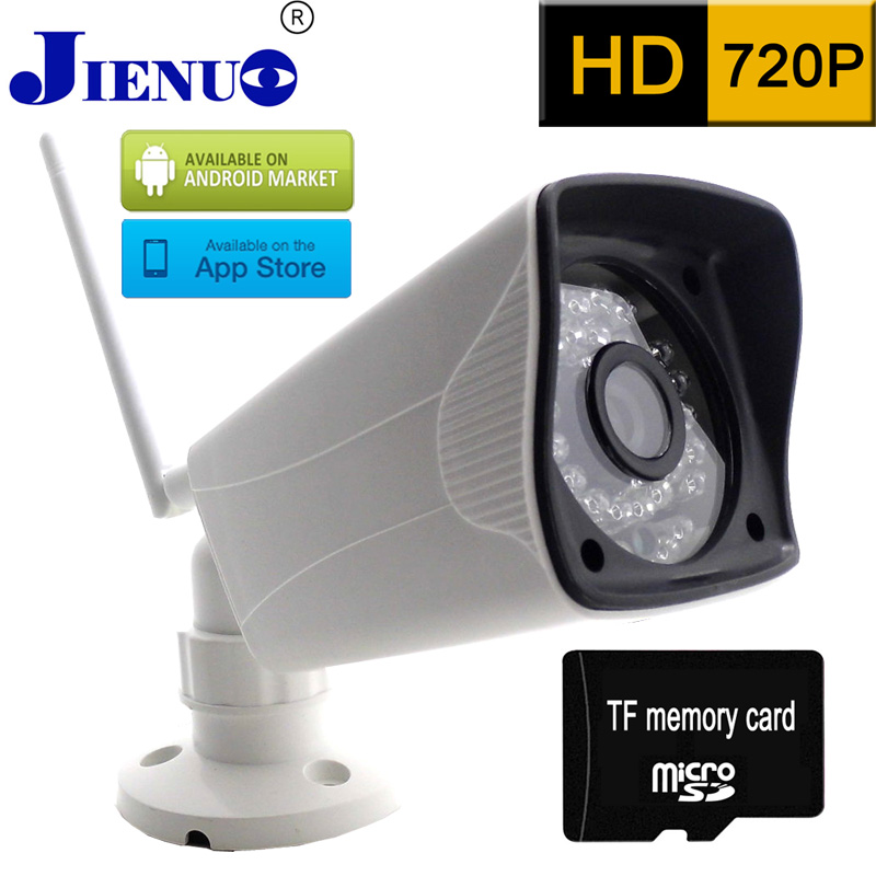 IP Camera 720P HD Wireless Memory card recording CCTV Home Surveillance Security cameras P2P Mobile Remote View Mini Ip Cam(China (Mainland))