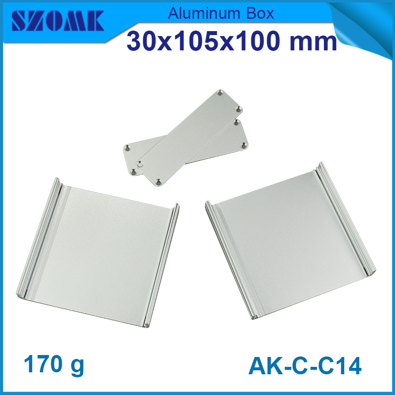 10pcs/lot top sales aluminium cabinet for electronic outlet box distribution case 30*105*100mm<br><br>Aliexpress