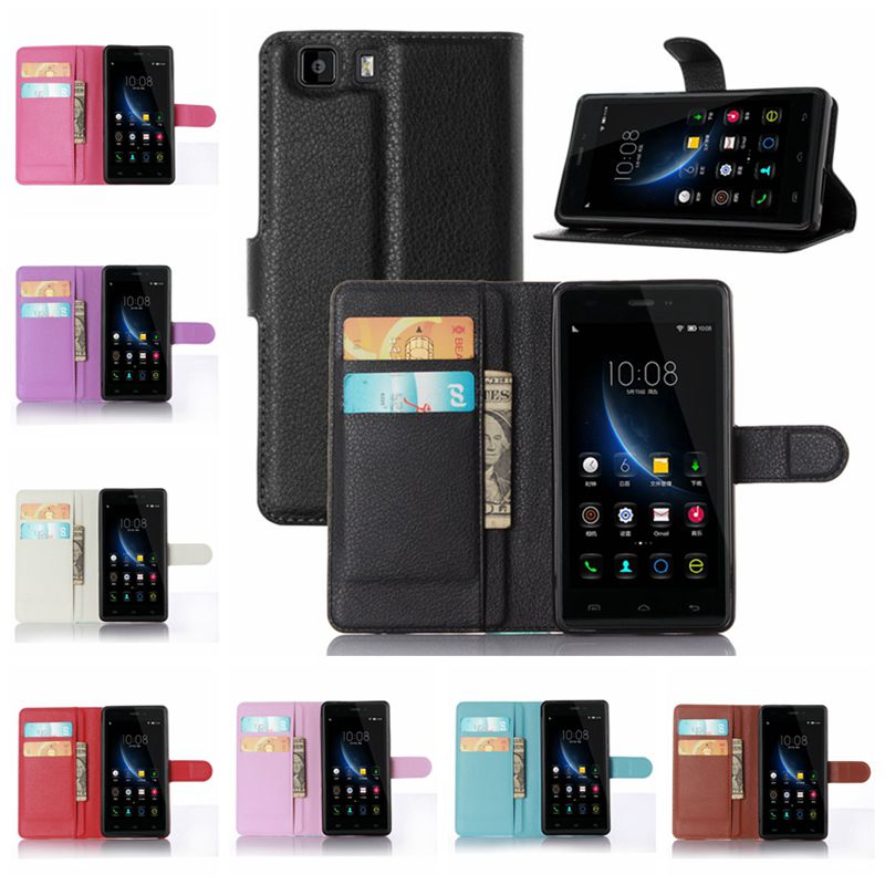 OWNEST Luxury Wallet Flip Cover stand Case For doogee x5 / pro for doogee x6 case Cell Phone PU Case with Card Slot(China (Mainland))