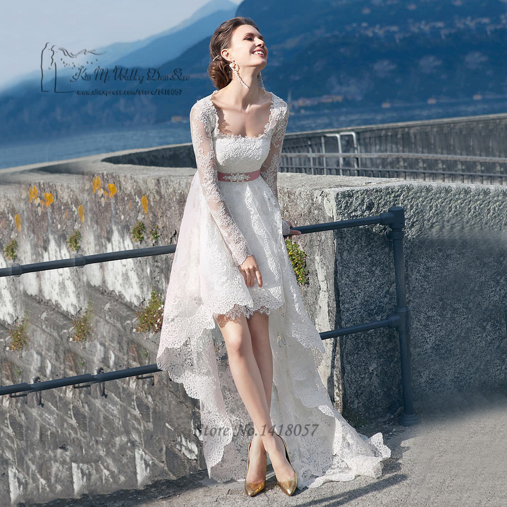 whitney port wedding dress high low wedding dress Rivini metallic organza hi low ball gown from Fall