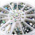 10 PCS Misto Colorido Beleza Rola Linha Fita Striping Decalques Foil Dicas DIY Projeto Nail Art Adesivos para unhas Ferramentas decorações