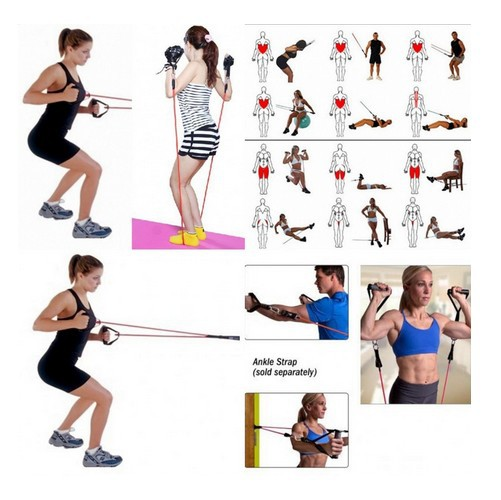 Ab Workouts With Resistance Bands Workout