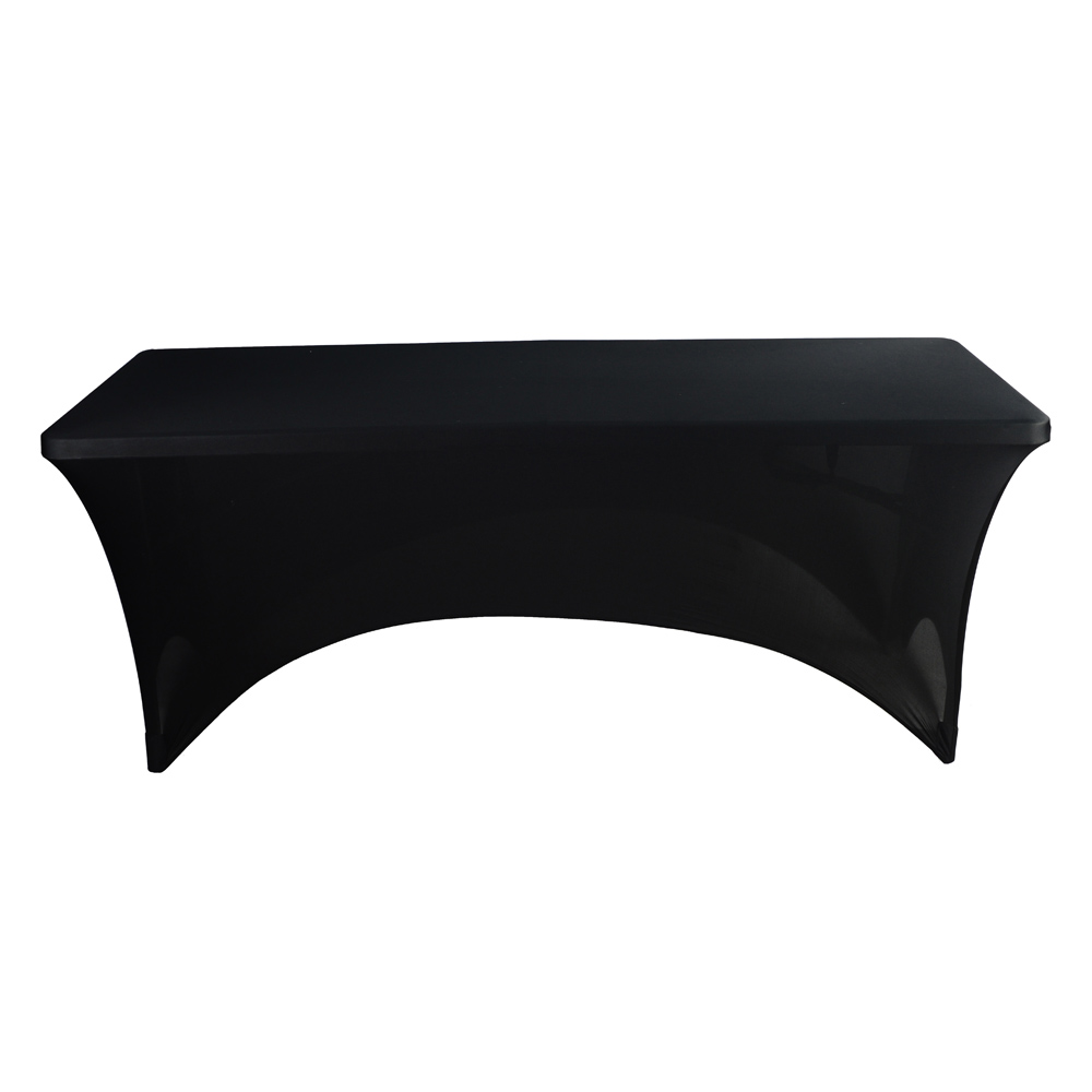 Rectangular Table Cover Spandex Fabric Tablecloth Stretch Bar Bistro for Wedding party Decorations 183*76*76cm(China (Mainland))