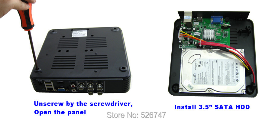 8CH MINI NVR DVR Security Standalone CCTV IP Camera HD Video Recorder WiFi Cloud