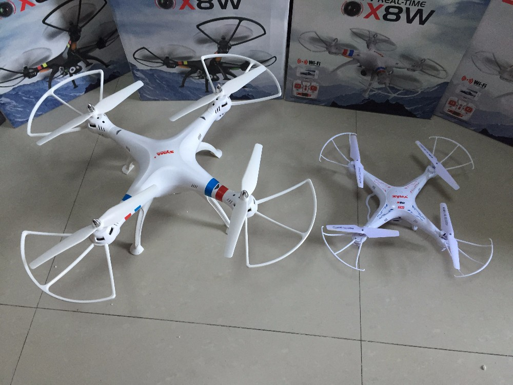 SYMA x8w & x8c FPV RC Drone 6-Axis Professional  Quadcopter With 2MP WiFi Camera RC Helicopter With Battery And Blades As Gift
