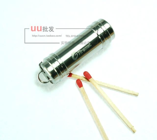 100pcs/lot Tiremet titanium alloy waterproof box kit drug box multi purpose waterproof evertive