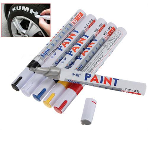 2015 Newest Paint Pens Whatproof Permanent Paint Marker Pen Car Tyre Tire wheel Metal Rubber Plastic(China (Mainland))