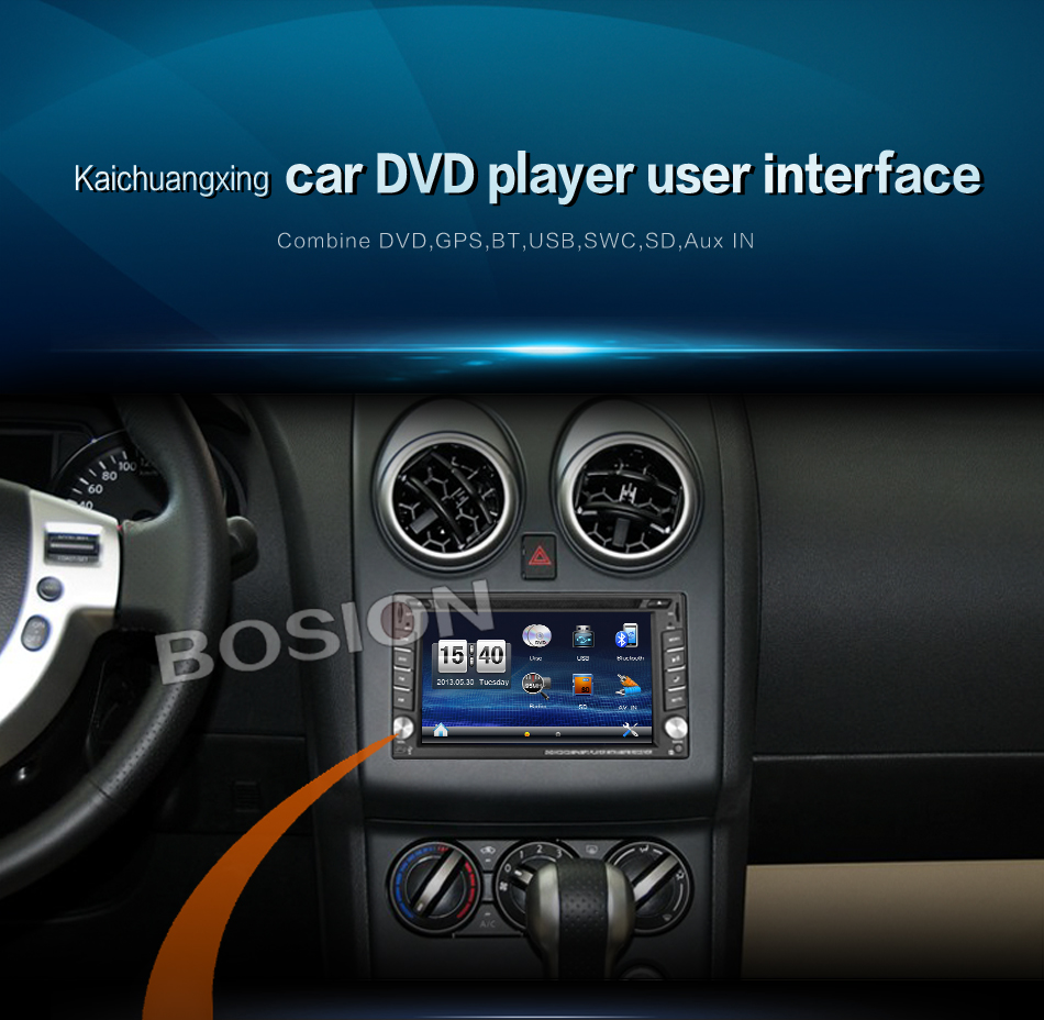 """2016 New! Touch Screen car dvd player gps navigation USB SD Bluetooth FM 6.2"""" 2din in dash TFT support rear view camera input(China (Mainland))"""
