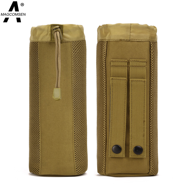 750ml Tactical Men Mesh Nylon Pack Casual Water Bottle Belt Bag Outdoor Travel Running Sport Waist Pack Kettle Bag AG-BJDN-008(China (Mainland))