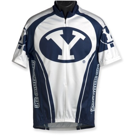 2016 Men Cycling Jersey BYU Bike jersey Outdoor quick dry cycling Shirt(China (Mainland))