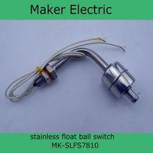 220 V alta calidad a prueba de explosiones MK-SLFS7810 bola interruptor de nivel interruptor de flotador interruptor de flotador del cable de nivel de flotador
