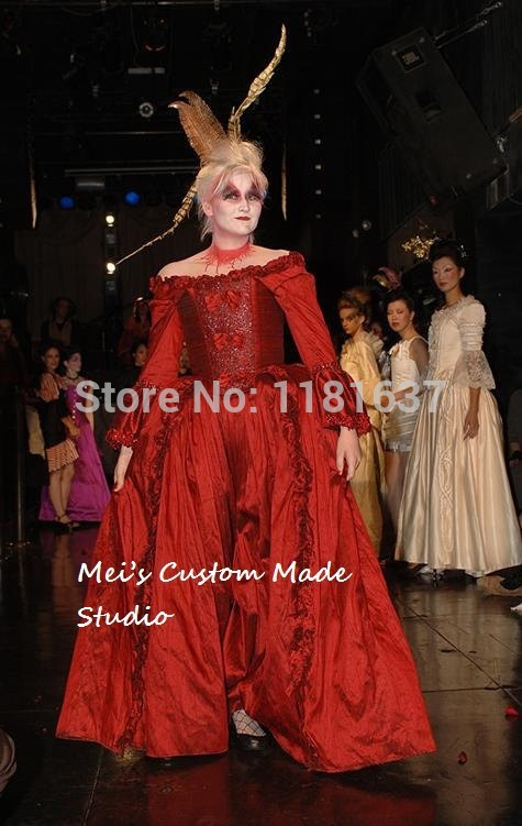 Custom Made Gothic Moive Theater Gown Rococo Beaded Marie Antoinette Corset GownОдежда и ак�е��уары<br><br><br>Aliexpress
